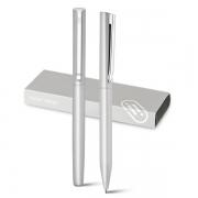 KLOS Set roller et stylo à bille en aluminium